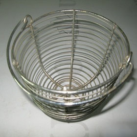 stainless steel washing fruit vegetable wire mesh colander strainer