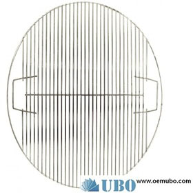 Circular stainless steel grill