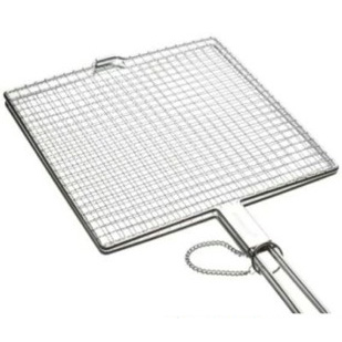 Barbeque grill with handle